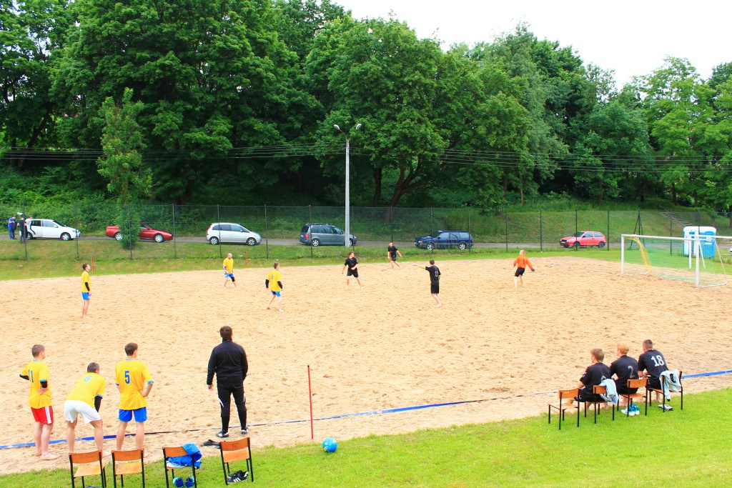Pitch for beach football
