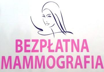 Logo bezpłatna mammorafia