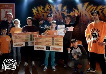 Zdjęcie zwycięzców Breakmanii 2015