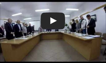 XXXVIII Sesja Rady Miejskiej w Rynie 29.11.2017 r.