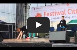 Występy ryńskich tancerzy cz.VII - Festiwal Cittaslow w Gołdapi 09.05.2015