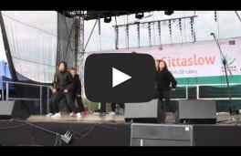 Występy ryńskich tancerzy cz.V - Festiwal Cittaslow w Gołdapi 09.05.2015