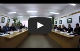 XIII Sesja Rady Miejskiej w Rynie 30.12.2015 r.